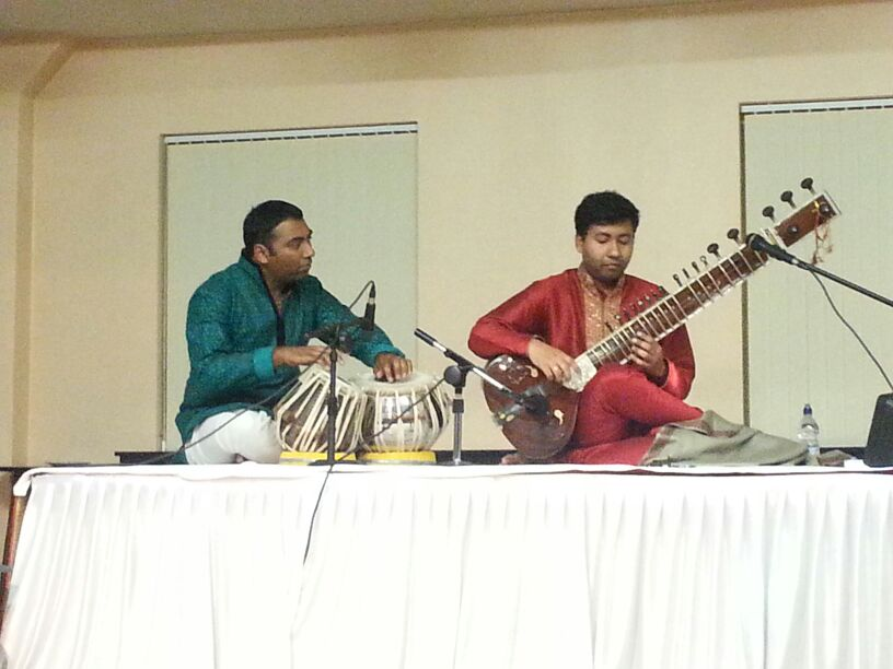 Hari Trivedi and Ram Bhattacharya – performance