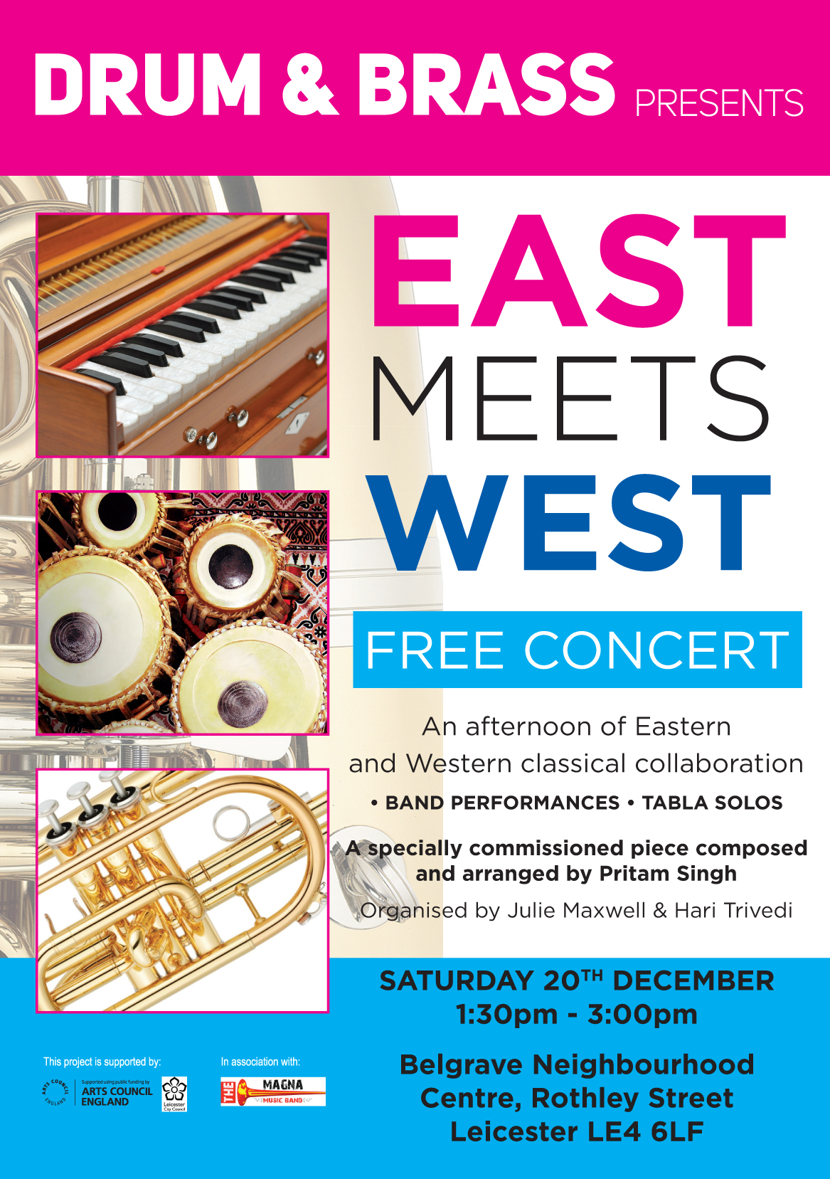 Drum & Brass – East Meets West